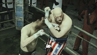 Butterbean gets owned by Rocky Marciano - Fight Night Champion - Bare knucles fight  (PS3)✔