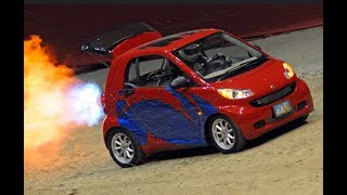 JET POWERED SMART CAR SUPER CHEVY THUNDER VALLEY 2015