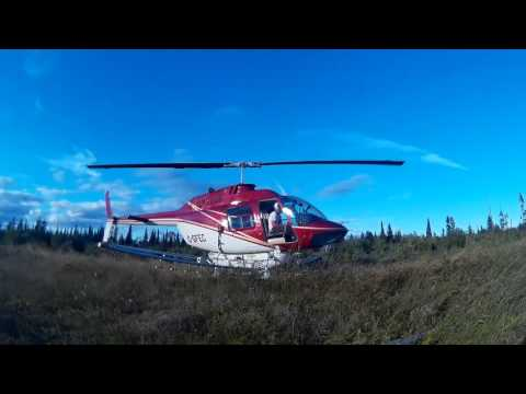 Helicopter Forestry Spray Video