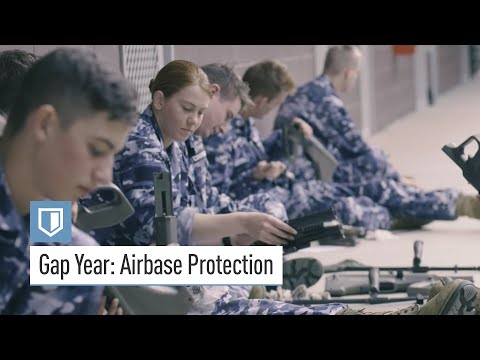 Gap Year - Air Force Airbase Protection job training