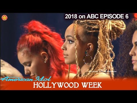 American Idol 2018 Hollywood Week Round 1 Group 4- Jurnee – Dennis Lorenzo