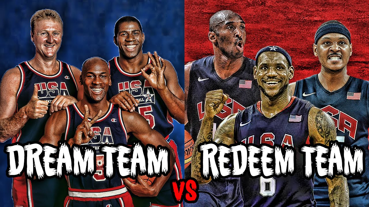 WHAT IF THE 1992 DREAM TEAM PLAYED THE 2008 REDEEM TEAM ...
