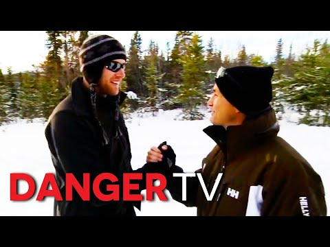 Flintoff vs Dennis Wise in the Canadian Rockies   Freddie Flintoff Versus The World S01E05