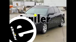 Trailer Hitch Installation - 2009 Nissan Altima - etrailer.com