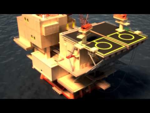 محطة حقول النفط البحرية marine oil field station