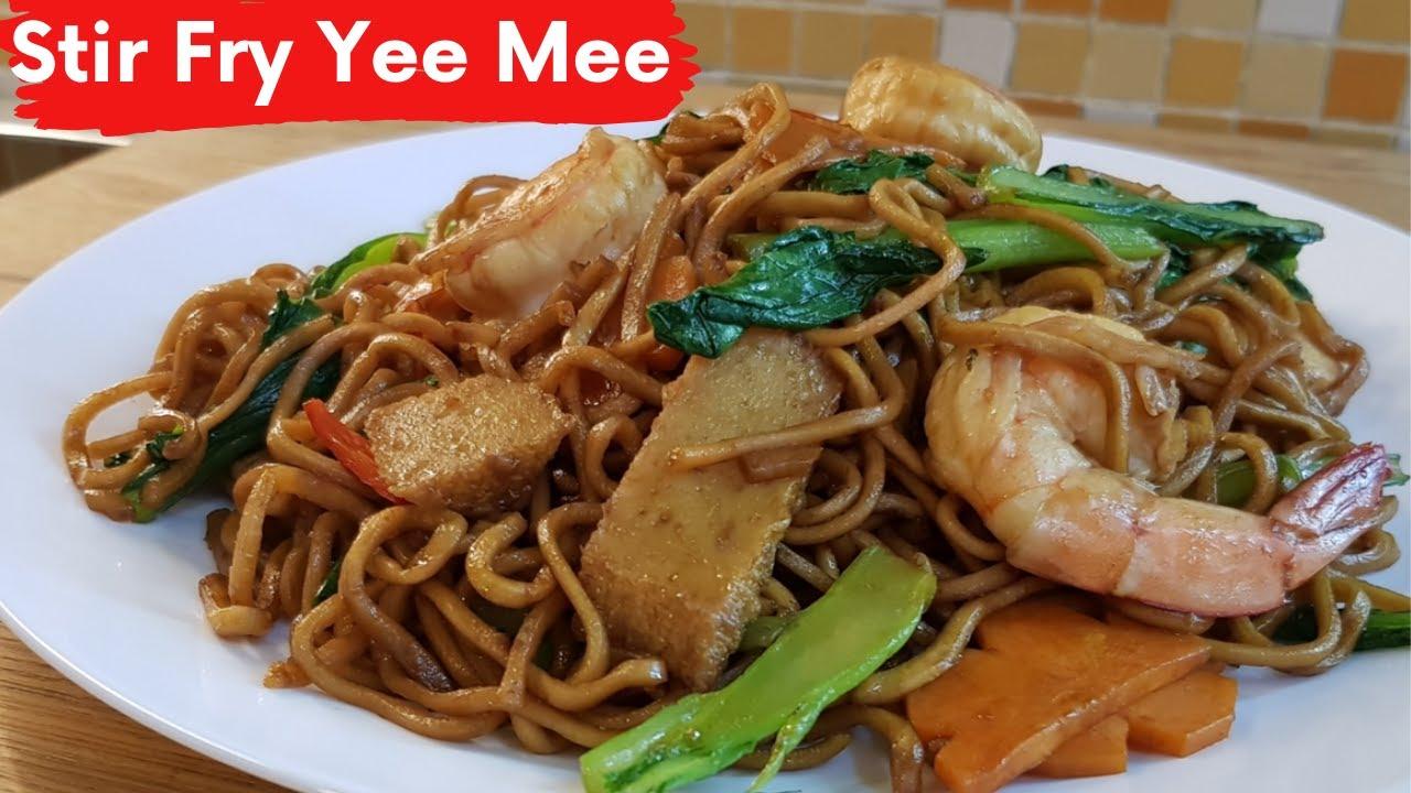 Delicious Stir Fry Yee Mee Yee Mee Goreng Recipe Youtube