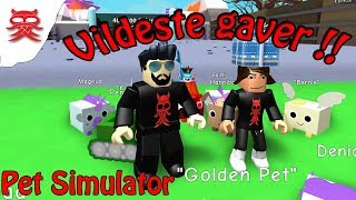 Wild Gifts!! -Pet Simulator-Danish Roblox