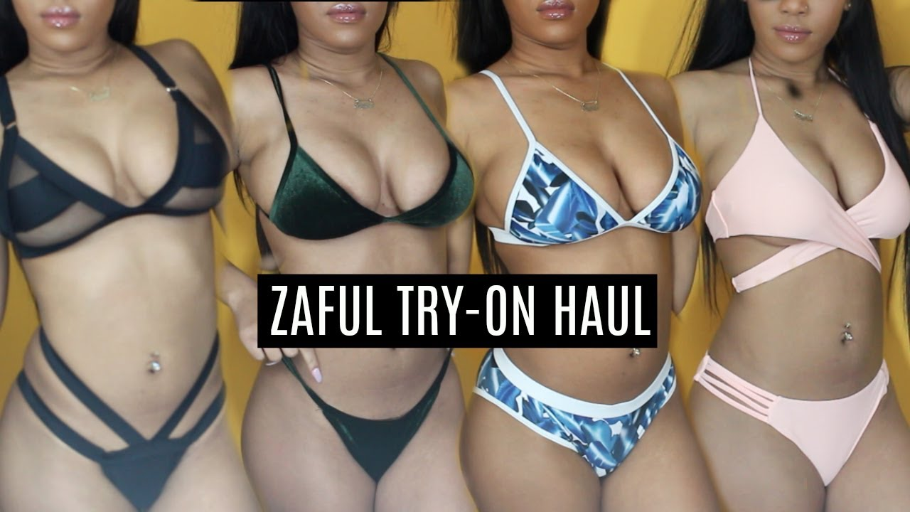 81a74a5279 CHEAP ZAFUL BIKINI TRY-ON HAUL