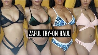 CHEAP ZAFUL BIKINI TRY-ON HAUL | My Honest Review