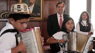 Jóvenes músicos de Agustín Codazzi y Pueblo Bello invitad
