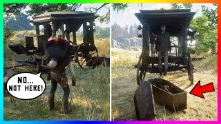 What Happens If You Bring The Saint Denis Vampire To The Hearse In Red Dead Redemption 2? (RDR2)
