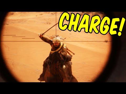CHAAARGE! - Battlefield 1 Funny Moments & Epic Stuff