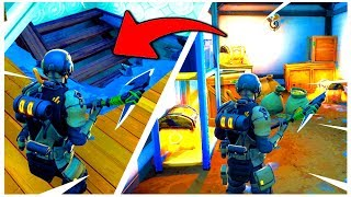 3 NEW SECRET PASSAGES on FORTNITE!! (New Hidden Spot Rental)