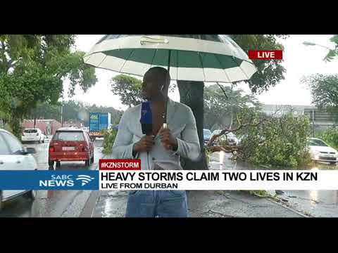 Heavy storms claim two lives in KZN