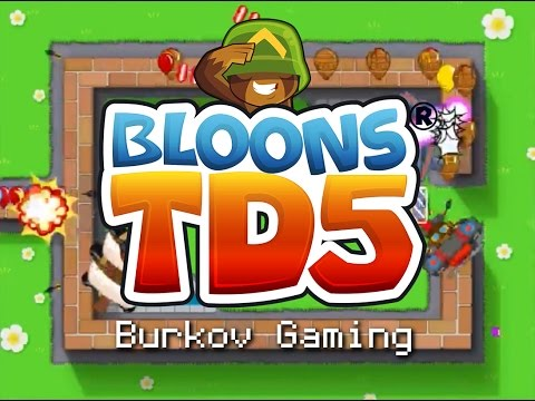 BEGINNER MAPS ON EASY IS TOO EASY - Bloons Tower Defense 5 (Part 7)