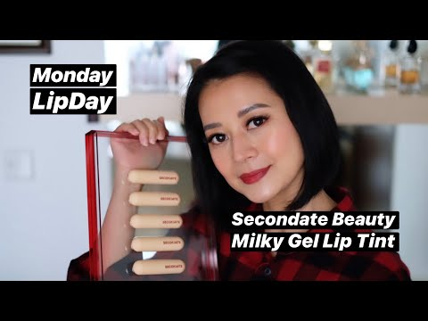 SeconDate Milky Gel Lip Tint Swatch and Review
