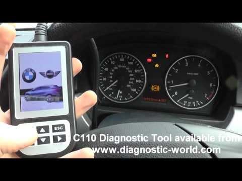BMW 1 Series E81 E82 E87 E88 ABS Light Diagnose & Replace Rear Wheel Speed Sensor