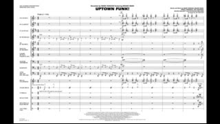 Uptown Funk by Mark Ronson/arr. Jay Bocook