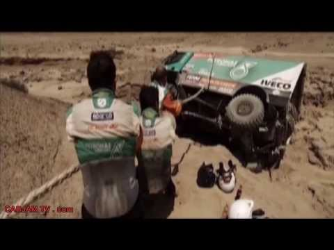 Dakar 2013 Rally How Hard? Paris Dakar Crashes Carjam TV HD Iveco Trucks Commercial - 2014