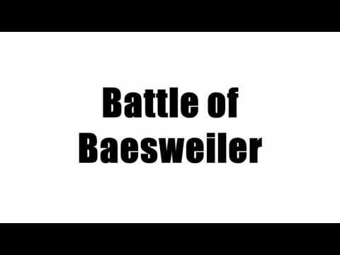 Battle of Baesweiler
