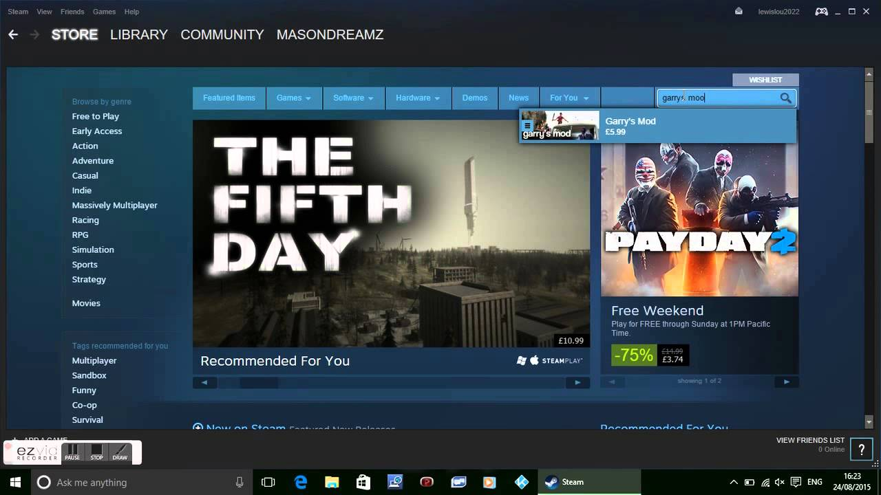 how to get garrys mod for free on steam