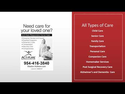 ACTI-KARE of Weston In-Home Care