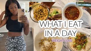 WHAT I EAT IN A DAY TO LOSE WEIGHT    EASY MEAL PREP