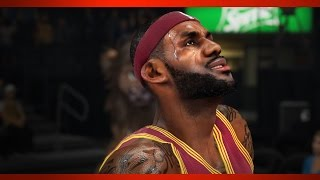 NBA 2K15 Gameplay Celtics vs Cavaliers PC Ultra Settings