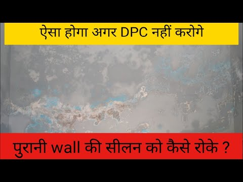 Reason Of Dampness In Walls || Damp Proof Course || DPC Importance