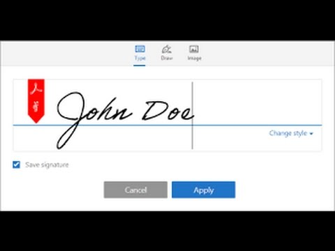 Sign PDFs With Adobe Reader DC HOW TO SIGN DOCUMENTS