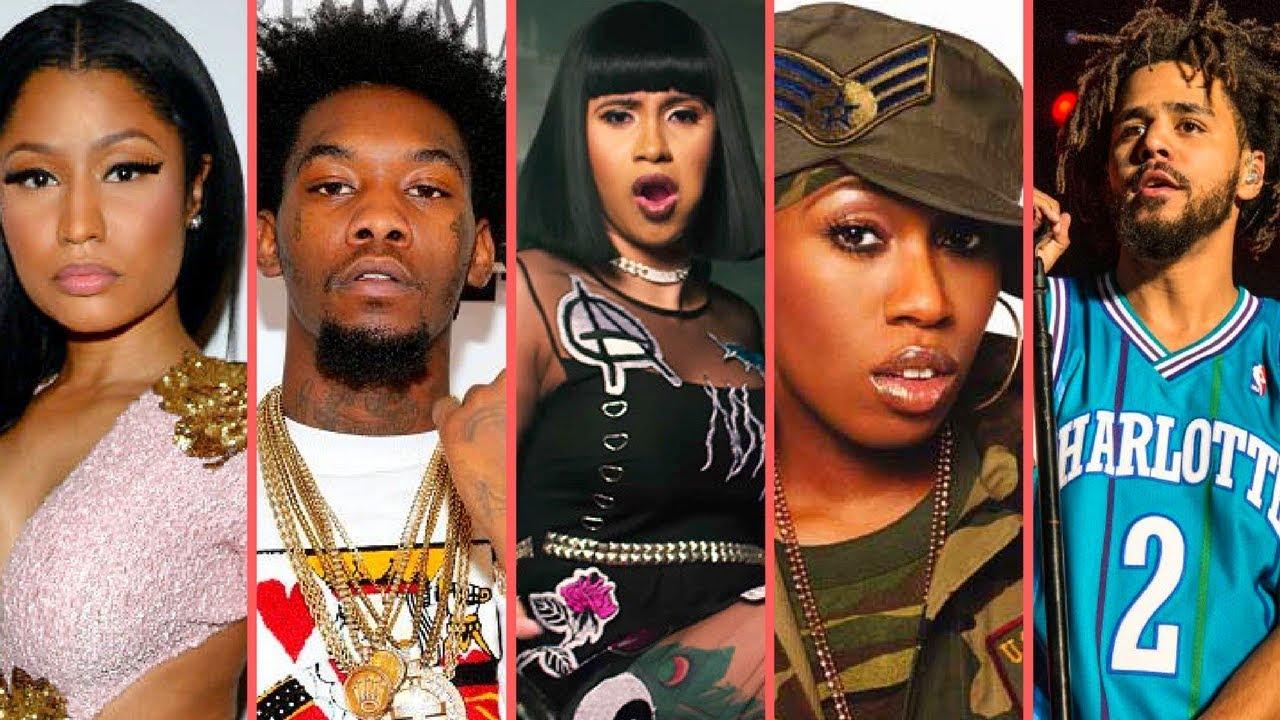 Every Single Female Rapper Congratulates Cardi B on Her Historic No. 1 Single