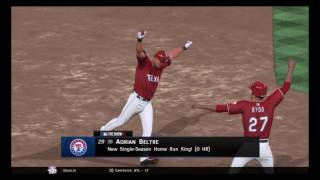 Adrian Beltre becomes the new All Time Home Run King!