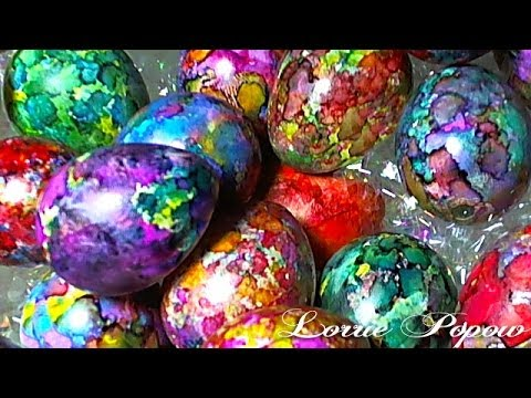 diy learn how to decorate and color easter eggs with alcohol inks easter egg ink