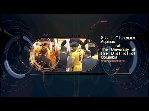 Men's Basketball: St  Thomas Aquinas vs UDC