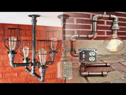 Industrial Lighting Ideas For Your Home  YouTube