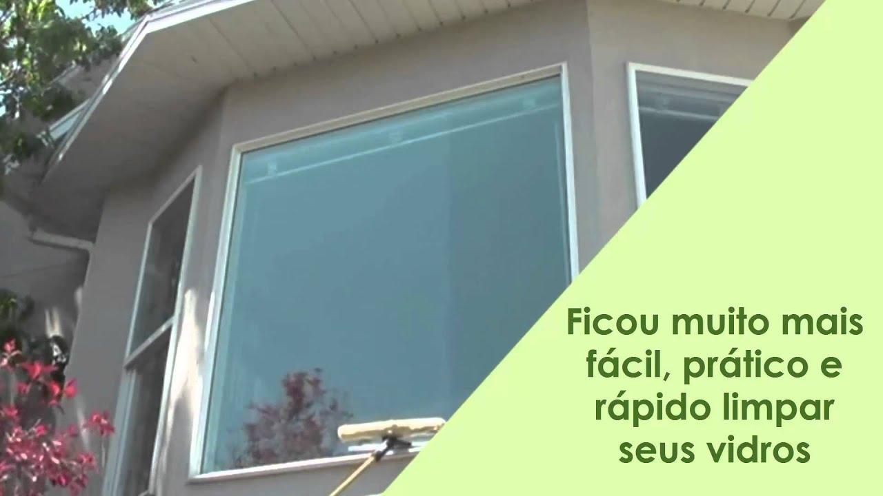 #76BF0C Cabo extensor e conjunto limpa vidros   810 Limpar Vidros E Janelas