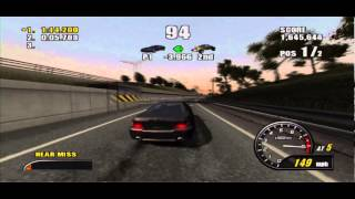 Burnout 2: Point of Impact (PS2) - Face off 1