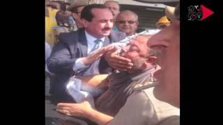 فيديو| ننشر حقيقة تكميم رئيس مدينة المحلة لفم مواطن