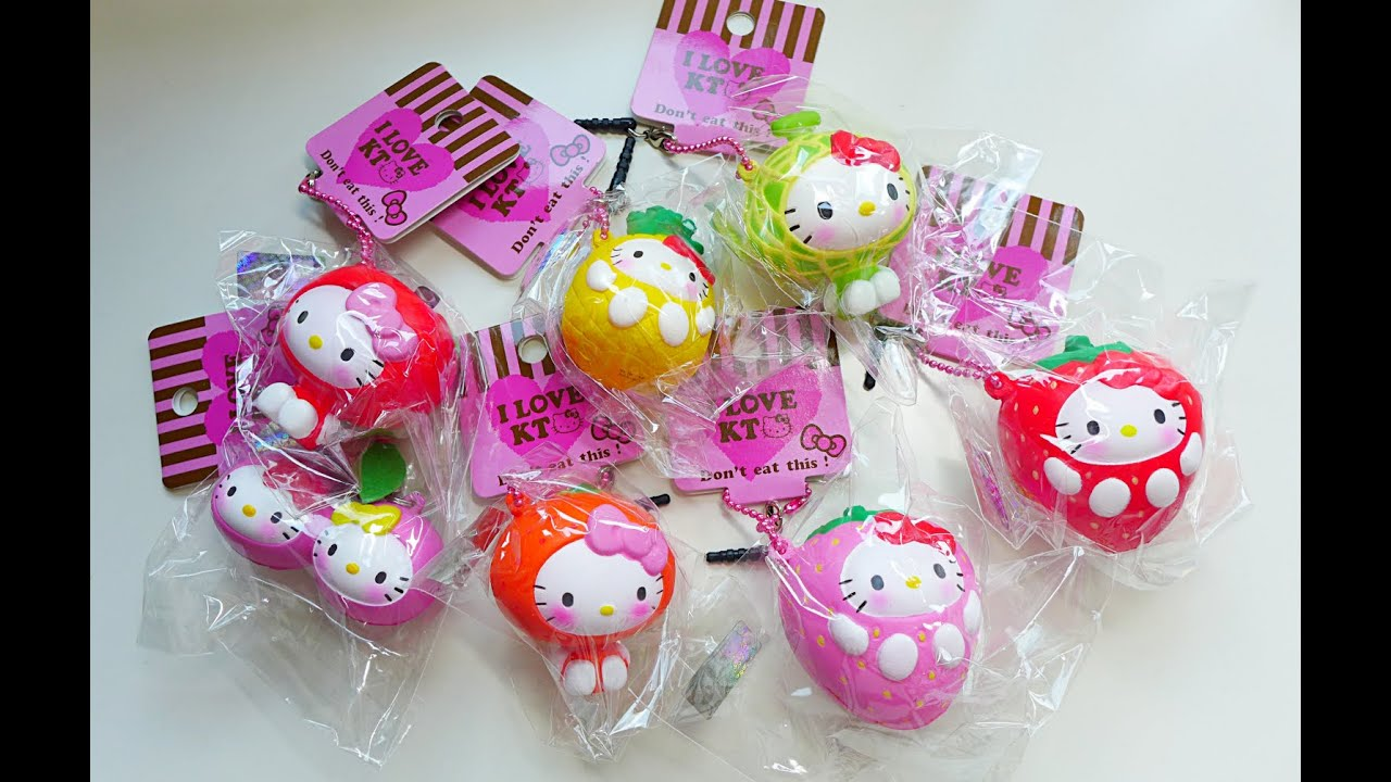 Squishy Collection Hello Kitty : Related Keywords & Suggestions for hello kitty squishies