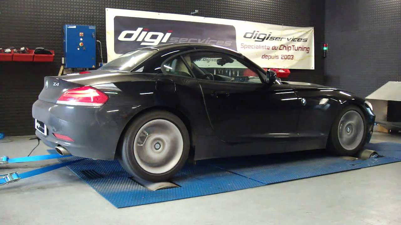 reprogrammation moteur bmw z4 35i 306cv 380cv dyno digiservices youtube. Black Bedroom Furniture Sets. Home Design Ideas