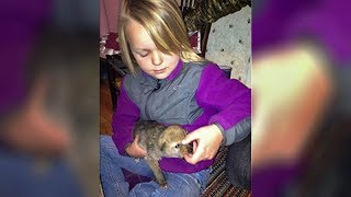 Her Dad Brought Home A Strange Puppy. But Look Closely… Because That