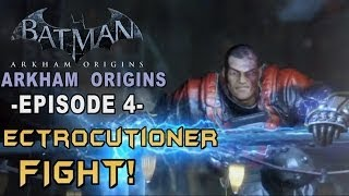 Batman: Arkham Origins - Walkthrough Part 4 Final Offer & Electrocutioner Boss