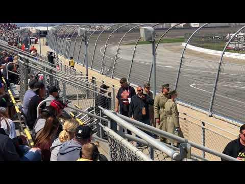 NASCAR 2018 Autoclub Speedway Fontana Ca.