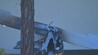 Video shows plane spiral into daycare