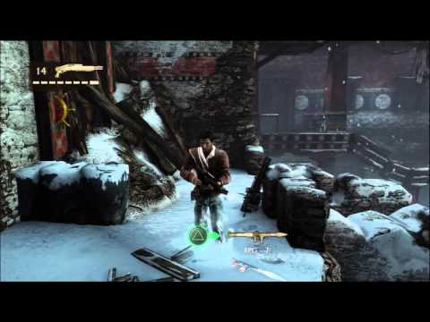 Climb To The Open Window - Uncharted 2 Among Thieves HD Playthrough/Walkthrough Part 40