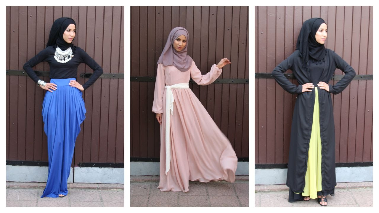 Modest Outfits - Lookbook Hijab - YouTube