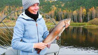 В ТАЙГУ НА НЕДЕЛЮ день 5 Меня обловили Рыбалка на таёжной реке в Сибири Сплав