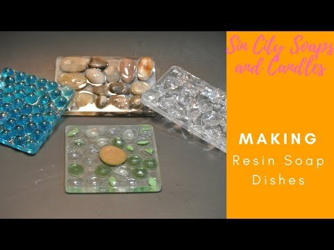 Making Resin Soap Dishes Short Version
