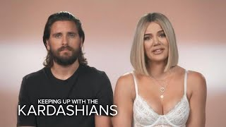 KUWTK | Pregnant Khloé Kardashian Thinks Scott's Jokes Could Induce Labor | E!