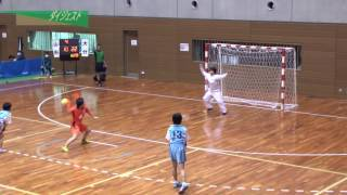 H26年 第23回JOCハンドボール大会大分VS山形(ダイジェスト)(女子予選リーグ)